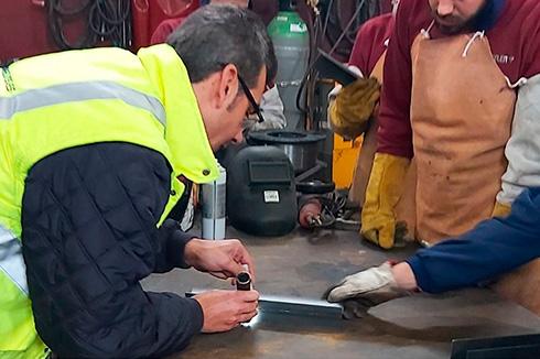curso inspección de soldadura Vigo